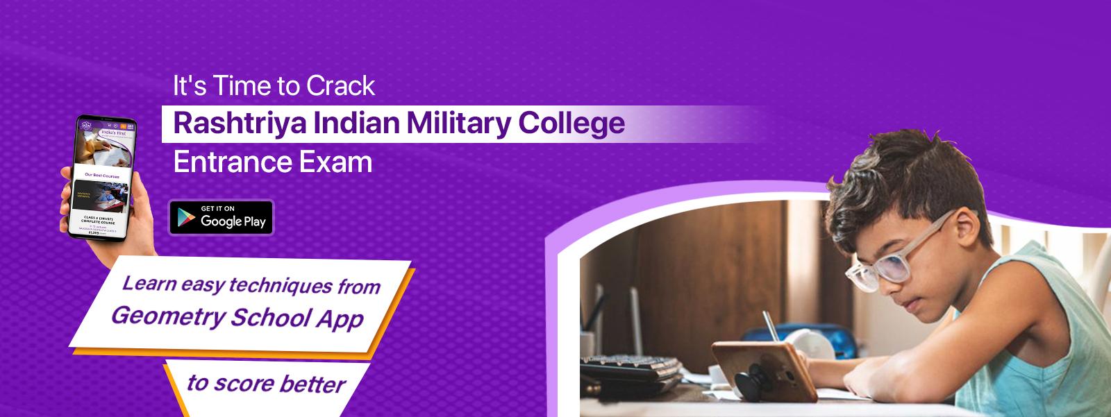 Rashtriya Indian Military College (RIMC) Entrance Exam