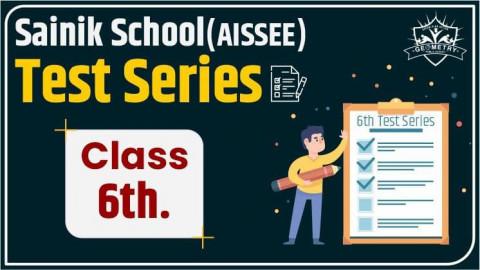 SAINIK SCHOOL CLASS 6 (AISSEE) HINDI LANGUAGE TEST SERIES