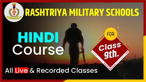 HINDI CRASH COURSE CLASS 9 [RMS]