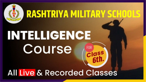 Intelligence Test Course Class 6 [RMS]
