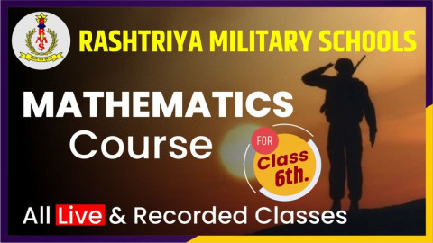 Mathematics Course Class 6 [RMS]