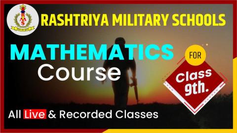 MATHEMATICS CRASH COURSE CLASS 9 [RMS]